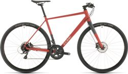 CUBE SL ROAD RED/GREY 2020 56CM