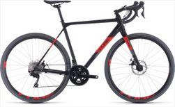 CUBE CROSS RACE BLACK/RED 2020 58 CM