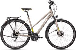 CUBE TOURING PRO GREY/GREEN 2021 T54