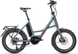 """CUBE COMPACT HYBRID SPORT BLUE/RED 2021 20"""""""