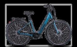 CUBE SUPREME HYBRID EXC 625 BLUE/BLACK 2022 EE XS