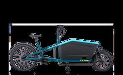 "CUBE CARGO HYBRID 500 BLUE/LIME 2022 20"""