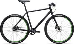 HYDE RACE BLACK/FLASHGREEN 50