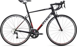 ATTAIN RACE BLACK/RED 56