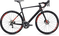 AGREE C:62 RACE DISC CARBON/FLASHRED 56