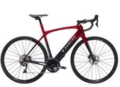Trek Domane + LT 60 Rage Red to Deep Dark Blue Fade 260