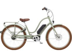 Electra Townie Go! 5i Step Thru EU 26 Green Tea 500WH