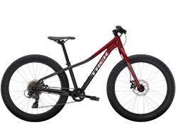 Trek Roscoe 24 24 Rage Red to Dnister Black Fade NA