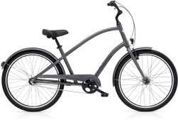 Electra Townie Original 3i EQ Men's 26 Satin Graphite