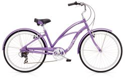 Electra Cruiser Lux 7D Ladies' 26 Purple NA