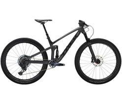 Trek Top Fuel 9.8 GX AXS ML Matte Raw Carbon/Voodoo Tre