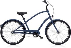 Electra Townie Original 3i EQ Men's 26 Satin Midnight Blue