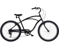 Electra Cruiser Lux 7D Men's 26 Matte Black NA