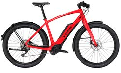 Trek Super Commuter + 8 M Viper Red