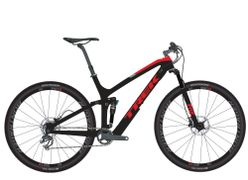 Fuel EX 9.7 29 17.5 Matte Trek Black/Viper Red