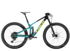 Top Fuel 9.8 GX S Trek Black to Teal Fade