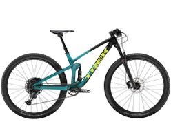 Top Fuel 9.7 NX L Trek Black to Teal Fade