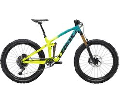 Trek Remedy 9.9 27.5 X01 XL Teal to Volt Fade NA