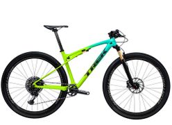 Trek Supercaliber 9.9 XX1 XL Miami Green to Volt Fade N
