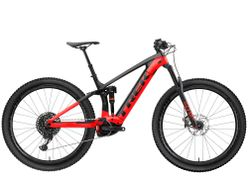 Rail 9.8 GX EU L Matte Trek Black/Gloss Viper Red