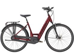 Trek District+ 8 Lowstep L Rage Red 500WH