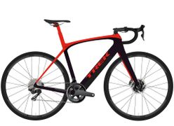 Domane + LT 54 Radioactive Red/Trek Black 260WH