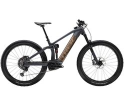 Trek Rail 9.9 XTR EU XL Solid Charcoal to Root Beer Ano
