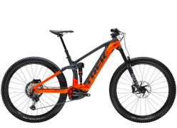 Trek Rail 9.8 XT EU S Solid Charcoal/Radioactive Orange