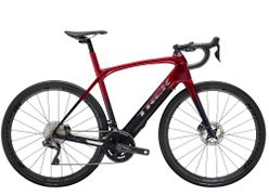 Trek Domane + LT 7 62 Rage Red to Deep Dark Blue Fade 2