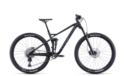 Cube Stereo 120 Race Black Anodized 2022 L
