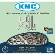 Kmc ketting 11/128 x9l ti-n zilver 9speed light