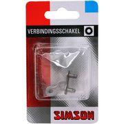 "Simson kettingschakel anti-roest maat 1/2""x1/8"" zwart"