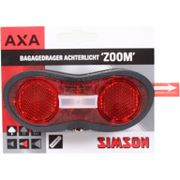 Batterijachterlicht Simson Basta zoom on/off, incl