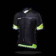 Bbw-233 Shirt K.M. Roadtech Xl Zwart/Neon Geel