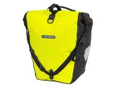 Tas backroller hivis single f5504 geel fluo/zwart