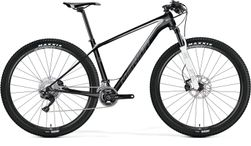 Merida Big Nine Xt Matt Carbon/white/grey 19""