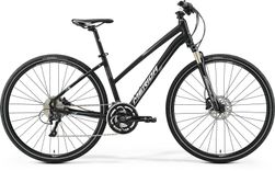 Merida Crossway Xt Edition Lady Matt Black/Grey/White 54C
