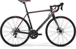 Merida Scultura Disc 400 Silk Black/silver/red L 56cm