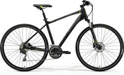 Merida Crossway 300 Matt Black/green/grey L 55cm