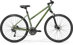Merida Crossway 300 Ladies Matt Fog Green/dark Green L 55