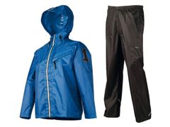 Regenpak AGU Splash jongens Blauw 140