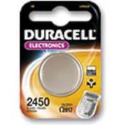 Batterij Duracell CR2450 3V Lithium