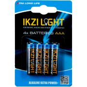 Batterijen Ikzi LR03 Alk AAA Kaart (4)