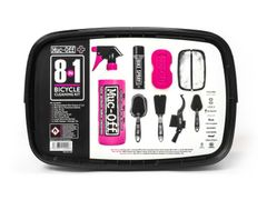 Muc-off 8 in 1 bicycle cleaning kit reinigingspakk