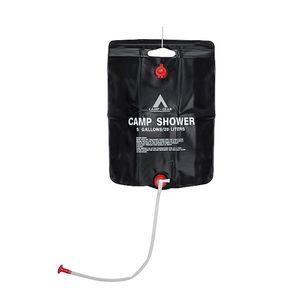 Camp-Gear - Solar douche - Camp Shower - 20 Liter - Zwart