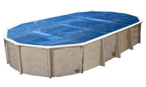 Interline Summer cover oval 8,50 x 4,90 m