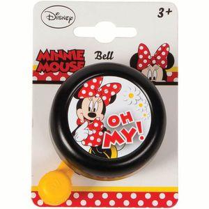 Widek bel Minnie Mouse zwart op krt