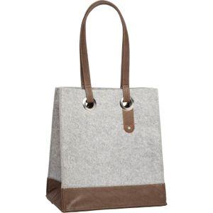 Cortina Minsk Basket Bag felt Grey