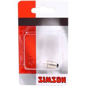 Simson lampje halo 6V 3W kraag