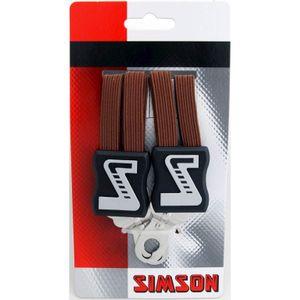 Simson snelbinder lang bruin